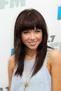 Carly Rae Jepsen arrives at the  Royalty Free Stock Photo