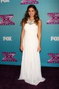 Carly rose sonenclar at the x factor season finale night cbs televison city los angeles ca Stock Photo
