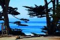 Carmel durch d meer kalifornien Stockfotos