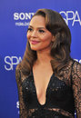 Carmen ejogo at the world premiere of her movie sparkle at grauman s chinese theatre hollywood august los angeles ca picture paul Royalty Free Stock Photos