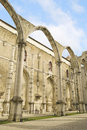 Carmo Church, Lisbon Stock Photography