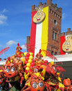 Carnival 2014, Aalst Stock Images