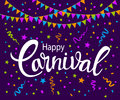 Carnival abstract background