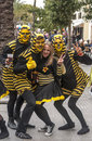 Carnival of Cadiz Royalty Free Stock Photo