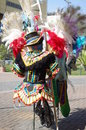 Carnival costumes used by samba dancers Royalty Free Stock Photo