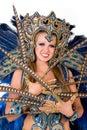Carnival dancer Stock Photography