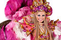 Carnival dancer Royalty Free Stock Image
