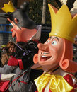 Carnival - fairytale characters float Stock Image