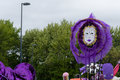 Carnival of the giants festival parade in Telford Shropshire Royalty Free Stock Photo