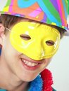 Carnival kid. Royalty Free Stock Images