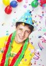Carnival Kid. Royalty Free Stock Photo