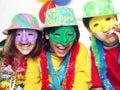 Carnival Kidds. Royalty Free Stock Photo