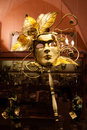 Carnival mask fine venetian style beautifully decorated Royalty Free Stock Photo