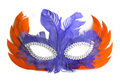 Carnival Mask With Orange And ...