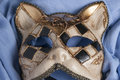 Carnival mask series with cat form Royalty Free Stock Images