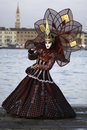 Carnival Mask in Venezia Royalty Free Stock Image