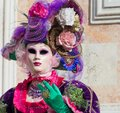 Carnival mask in Venice. The Carnival of Venice is a annual festival held in Venice, Italy. The festival is word famous for its el