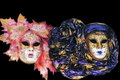 Carnival masks of Venice Stock Image