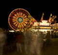 Carnival at night Royalty Free Stock Image