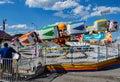"Carnival Ride Named ""Hang Ten"" Royalty Free Stock Photo"