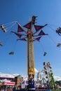 "Carnival Ride Named ""Vertigo"" Royalty Free Stock Photo"