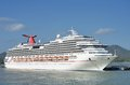 Carnival Splendor Cruise ship Royalty Free Stock Photo