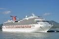Carnival splendor cruise ship amber cove dominican republic february Royalty Free Stock Image