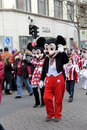 Carnival street parade wiesbaden germany Stock Photo