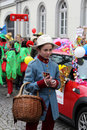 Carnival street parade wiesbaden germany Royalty Free Stock Photo