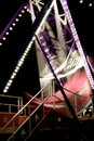 Carnival swing boat Royalty Free Stock Photography