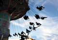 Carnival swing ride Royalty Free Stock Photo