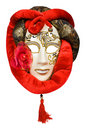 Carnival venetian mask of moon Stock Images
