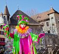 Carnival Venitien d' Annecy 2012 Royalty Free Stock Photography