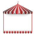 Carnivals tent frame Royalty Free Stock Image