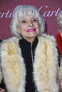 Carol channing palm springs ca january at the palm springs film festival awards gala at the palm springs convention centre Royalty Free Stock Photo
