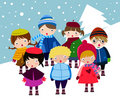 Carolers Stock Images