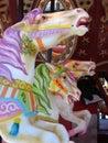Carousel horses Stock Photography
