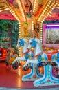 Carousel horses for children Royalty Free Stock Photo