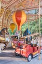 Carousel with lot of colors