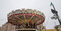Carousel at red square moscow russia it s decorated for the new year and christmas holidays Stock Photo