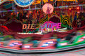 Carousels hamburger dom big fair with Royalty Free Stock Photography