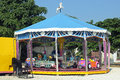 Caroussel for children in a village in france Stock Images