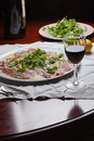 Carpaccio Stockbild