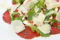 Carpaccio of beef Stock Photography