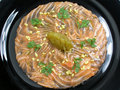 Carpaccio of salmon with ginger Stock Photos