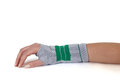 Carpal Tunnel Syndrome Brace. Royalty Free Stock Photos