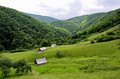 Carpathian Mountains Sibiu county Romania Transylv Royalty Free Stock Photo
