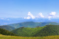 Carpathian ridges Royalty Free Stock Photos