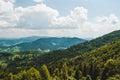 Carpathians a beautiful landscape in Stock Photography
