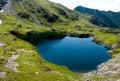 Carpathians lakeberg Royaltyfria Bilder